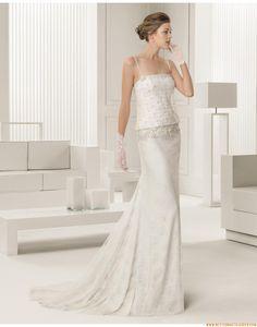 2015 Glamouröse Dramatische Besondere Brautkleider aus Softnetz mit Applikation