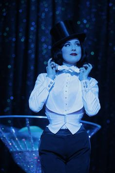 34e44619ea2 Dita Von Teese in a tailored female tuxedo