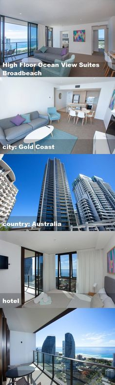 Located in Gold Coast, a walk from Pacific Fair Shopping Centre and 5 miles from Marina Mirage Shopping Centre, High Floor Ocean View Suites. Australia Hotels, Shopping Center, Gold Coast, Ocean, Tours, Flooring, Mansions, Country, House Styles