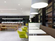 La cantina de los empleados de Breuniger, en Stuttgart, del estudio de arquitectura Dittel Architekte