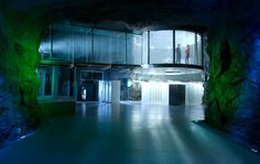 Deep Inside the James Bond Villain Lair That Actually Exists | WIRED #Architecture