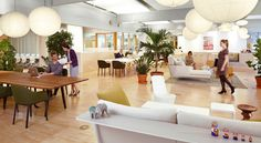Vitra's offices. An environment like this would increase my productivity 500%+. NOT KIDDING.