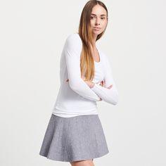 Koszulka z bawełny organicznej, RESERVED, PU007-00X