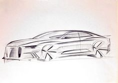 Audi sketch by P. Ruperto