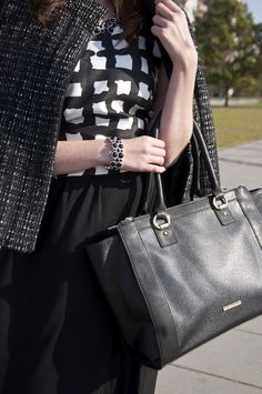 This Liz Claiborne windsor tote holds the essentials and is great when for on the go