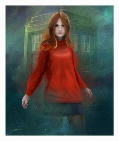 Amy Pond by AndyFairhurst.deviantart.com on @deviantART