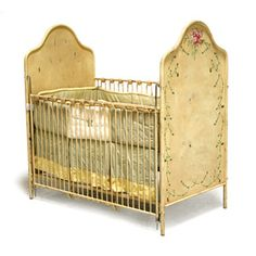 antique inspired crib