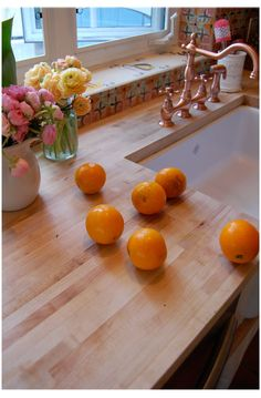 BUTCHER BLOCK COUNTER TOP   ******MUST HAVE********