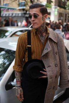 Are suspenders making a serious comeback?  Let's hope so.  Always dashing if done the right way.