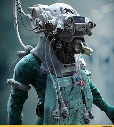 Sci-Fi,art,арт,красивые картинки,Josh Rife