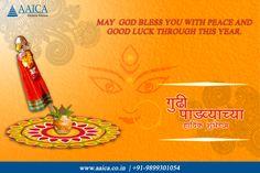 #Aaicakitchen #Wishes #HappyNavratri & #GudiPadwa2017 www.aaica.co.in