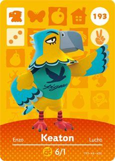 Animal Crossing Keaton Card