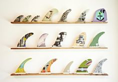 surfboard fin art - Google Search