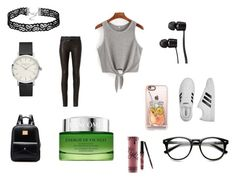 """""""wear it every day"""" by sikou on Polyvore featuring rag & bone, Lancôme, Vans, Casetify, Kylie Cosmetics and adidas"""