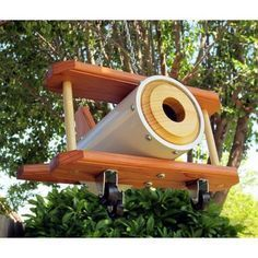 40 Beautiful Bird House Designs You Will Fall In Love With - Vogelhäuser - Vogelhaus Bird House Feeder, Bird Feeders, Squirrel Feeder, Bird House Plans, Bird Houses Diy, Bird Boxes, Yard Art, Beautiful Birds, Wood Projects