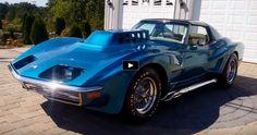 Spectacular 1972 Chevrolet Corvette Show Car