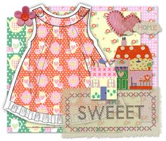 Download this Home Sweet Home Scrapbooking Kit and other free printables from MyScrapNook.com