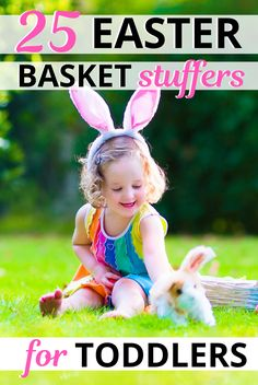 Here are 25 Easter basket stuffers for toddlers. Includes Easter basket ideas fo… – Create Something On Easter Cheap Easter Baskets, Boys Easter Basket, Easter Baskets For Toddlers, Easter Activities For Toddlers, Pose, Easter Toys, Basket Ideas, Girl Toddler, Toddler Fun