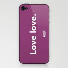 Love Love. iPhone skin.