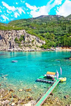 Sea Bay - Paleokastritsa, Corfu island, Greece - photo: Dragomir Nikolov