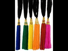 How To Video - Paranda setting using hair extensions for short hair - Great for Navratri 2012