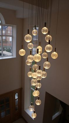 Glass Chandeliers - Contemporary LED Chandeliers - © 2012 Contemporary Chandelier Company