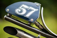 Disguised Oil tank - cafe racer