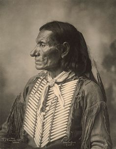 An old photograph of Pablino Diaz - Kiowa 1899.