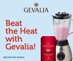 Dondoesdeals: Purchase four Gevalia coffee or tea products for $19.99 and receive FREE Stainless Steel Blender