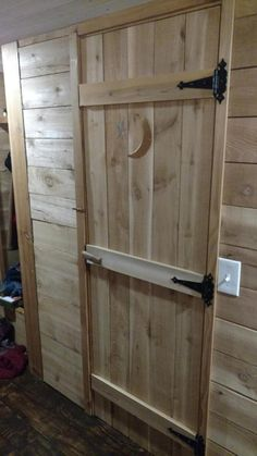 """""""Outhouse"""" Door"""