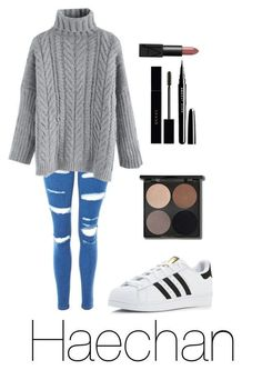 Fall outfit with Haechan / Nct dream Korean Fashion Kpop Inspired Outfits, Bts Inspired Outfits, Kpop Fashion Outfits, Korean Outfits, Swag Outfits, Cute Casual Outfits, Fall Outfits, Hijab Fashion Inspiration, Ulzzang Fashion