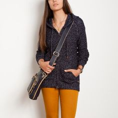 Snowy Fox Hoody | Women's Tops Sweaters and Cardigans | Roots