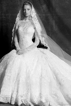 grace kelly princess inspired wedding dress 2011 - Margueritte bridal gown