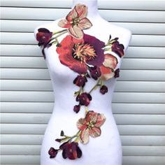 Short Sleeve Dresses, Dresses With Sleeves, Applique, Patches, Fashion, Moda, Sleeve Dresses, Fashion Styles, Gowns With Sleeves
