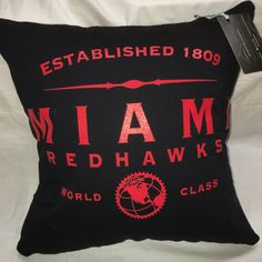 A personal favorite from my Etsy shop https://www.etsy.com/listing/464883504/oxford-ohio-university-tshirt-pillow