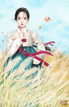 Kai Fine Art is an art website, shows painting and illustration works all over the world. Korean Illustration, Illustration Art, Chinese Drawings, Art Drawings, Korean Painting, China Art, Korean Art, Japanese Art, Amazing Art