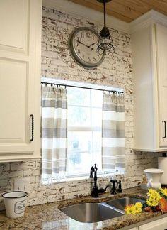 50+ Fancy Farmhouse Kitchen Backsplash Decor Ideas