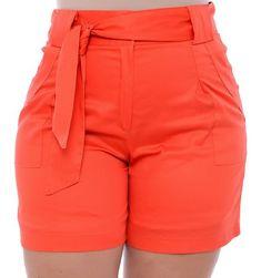 Shorts Plus Size Kiana - daluzplussize Sexy Shorts, Casual Shorts, Short Sexy, Short Court, Plus Size Swimwear, Women's Fashion Dresses, Different Styles, Plus Size Fashion, Cold Brew At Home