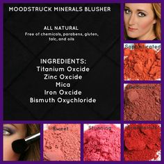 Our mineral pigment blushers. Great assortment of colours. http://www.youniqueproducts.com/KelitaShubert/ https://www.facebook.com/YouniqueByKelita