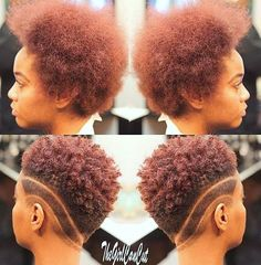 Easy Natural Hairstyles for Short - Easy Best HairStyles natürliches Haar Easy Natural Hairstyles for Short Short Hair Undercut, Undercut Hairstyles, Short Hair Cuts, Cool Hairstyles, Haircut Short, Tapered Haircut, Natural Tapered Cut, Tapered Natural Hair, Curly Hair Styles