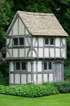 BIRTSMORTON COURT, WORCESTERSHIRE: THE VICTORIAN WENDY HOUSE ON THE MAIN LAWN