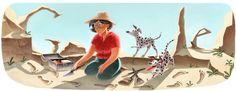 Mary Leakey : doodle du jour