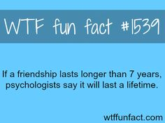 How long can friendship lasts?~My longest and closest friendship is 6 years.