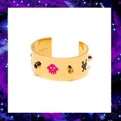 VIDEO GAME CUFF BRACELET  £220.00 Jewelry Collection, Video Game, Cuff Bracelets, Style, Stylus, Video Games, Bangles