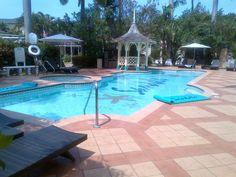 South pool at Sandals Royal Caribbean