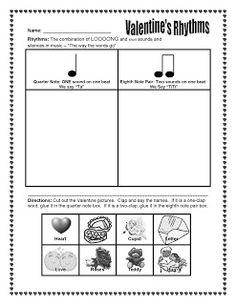 The Sweetest Melody: Valentine's Day Rhythm Activity - ta and titi Valentine Music, Valentines, Music Activities, Preschool Music, Class Activities, Holiday Activities, Music Games, Music Classroom, Classroom Ideas
