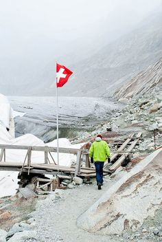 Rhone Glacier by coolsneakers2000, via Flickr