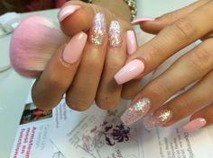 Roze by NagelstudioNN via @nailartgallery #nailartgallery #nailart #nails #acrylic