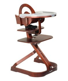Mahogany Signet Complete High Chair | Daily deals for moms, babies and kids