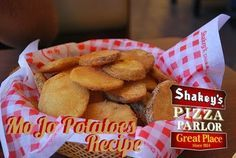 Shakey's MoJo Potatoes Recipe. Food from my childhood.